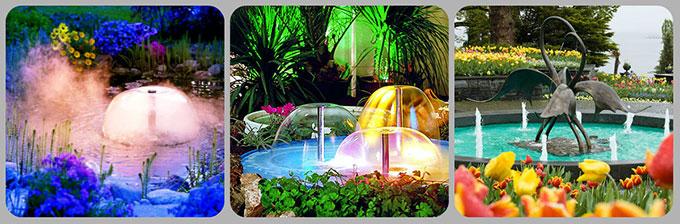 Водопады для сада и дачи